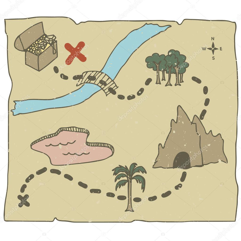 Карта сокровищ своими руками Лука Онлайн 76