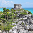 Royalty-Free Stock Photo: Tulum Mayan Ruins