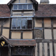 Shakespeare's Birthplace in Stratford-Upon-Avon — Stock Photo