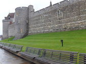 Windsor Castle in England — Stock Photo