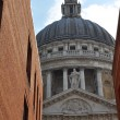 St Paul's Cathedral in London - 图库照片