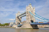 Tower bridge v londýně — Stock fotografie