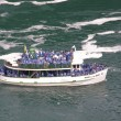 Foto de Stock  : Maid of Mist boat tour at NiagarFalls