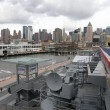 Foto de Stock  : Intrepid Museum in New York City