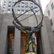Atlas Statue in New York City — Stock Photo #13943112