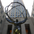 Atlas Statue in New York City — Stock Photo #13943143