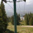 Lake Louise Gondola and Chairlifts in Banff National Park, Alberta, Canada — Foto de Stock