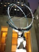 Atlas Statue in New York — Stock Photo