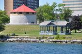 Historic Waterfront in Kingston, Ontario — Stock Photo