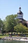 在安大略省金斯顿市政厅 — 图库照片