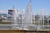 Confederation Arch Fountain in Kingston, Ontario in Canada — Foto Stock