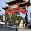 Stock Photo: Chinatown in Montreal, Canada