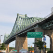 Jacques Cartier Bridge in Montreal — Stock Photo #13968776