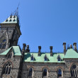 Parliament Hill in Ottawa — Stock Photo