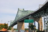 Jacques Cartier Bridge in Montreal — Stock Photo