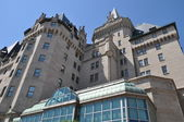 Chateau Laurier in Downtown Ottawa — Stock Photo