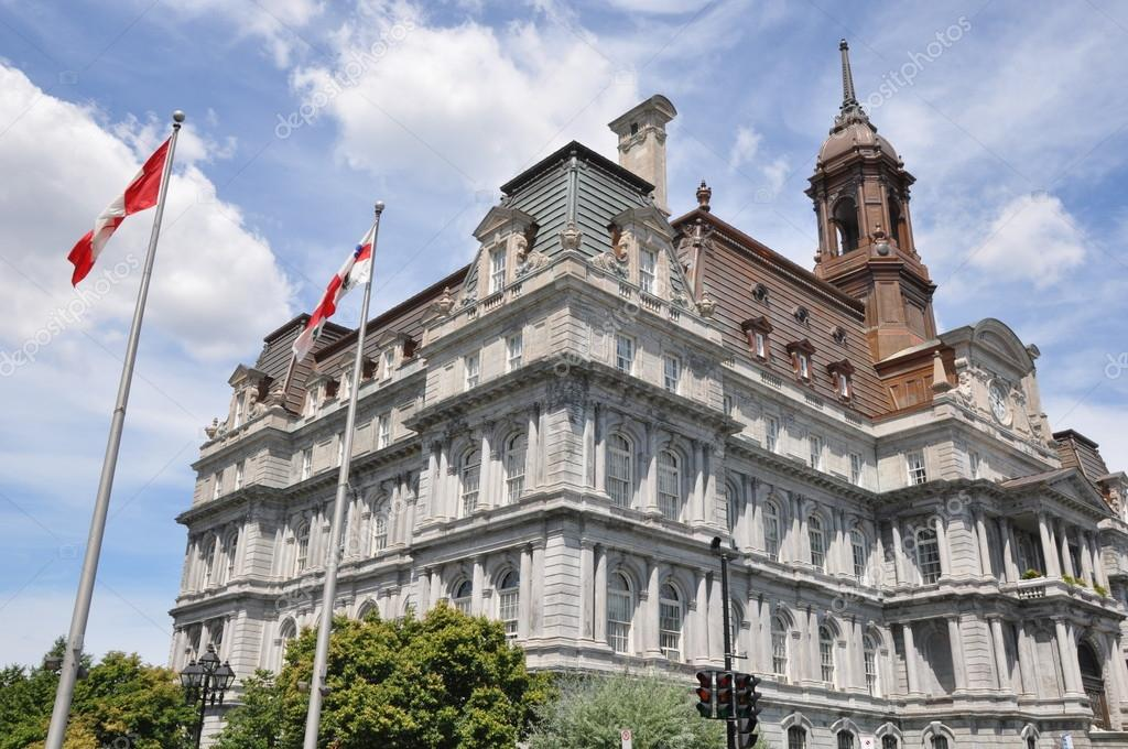 Old City Hall in Montreal, Canada — Stock Photo #13962049