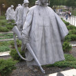 Stock Photo: Korean War Memorial