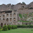 Golconda Fort in Hyderabad — Stock Photo