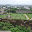 Golconda Fort in Hyderabad — Foto Stock