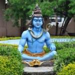 Statue of Hindu Lord Krishna at Shree Swaminarayan Gurukul in Hyderabad, India — Stock Photo #13974995