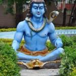Statue of Hindu Lord Krishna at Shree Swaminarayan Gurukul in Hyderabad, India — Stock Photo #13974996