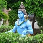 Statue of Hindu Lord Krishna at Shree Swaminarayan Gurukul in Hyderabad, India — Stock Photo #13975018