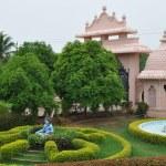 Statue of Hindu Lord Krishna at Shree Swaminarayan Gurukul in Hyderabad, India — Stock Photo #13975032