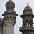 Mecca Masjid Mosque in Hyderabad - 图库照片