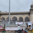 Mecca Masjid Mosque in Hyderabad — Stock Photo