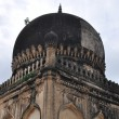 Qutb Shahi Tombs in Hyderabad, India - Stock Photo