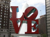Love Park in Philadelphia — Stock Photo