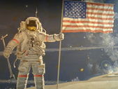 National Air and Space museum in Washington DC — Stock Photo