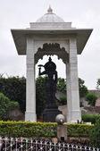 Birla Mandir (Hindu Temple) in Hyderabad, Andhra Pradesh in India — Stock Photo