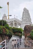 Birla mandir (templo hindu), em hyderabad, andhra pradesh, na índia — Foto Stock