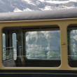 Stock Photo: Train to Jungfraujoch in Switzerland
