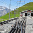 Train to Jungfraujoch in Switzerland — Stock Photo #14059906