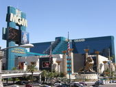 MGM Grand Resort and Casino in Las Vegas — Stock Photo