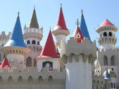 The Excalibur Hotel and Casino — Zdjęcie stockowe