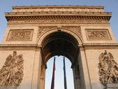 триумфальной арки в париже — Стоковое фото