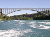 Rainbow Bridge at Niagara Falls — Stock Photo