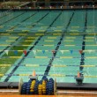 Swimming Pool at the Olympic Stadium in Montreal (Quebec), Canada — Stock Photo #14082227