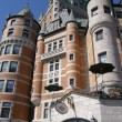 Le Chateau Frontenac in Quebec City — Stock Photo #14158565