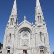 Shrine and Cathedral at Ste Anne de Beaupre — Stock Photo