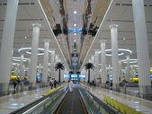 Terminal 3 (Emirates) at Dubai International Airport — Stock Photo