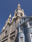 St Peter And Paul Church in San Francisco — Stock Photo