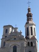 Catedral Notre dame, Basílica en la ciudad de quebec — Foto de Stock