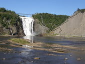 The Montmorency Falls in Quebec City, Canada — Stock Photo