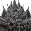Sanctuary of Truth in Pattaya, Thailand — Stock Photo