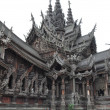 Stock Photo: Sanctuary of Truth in Pattaya, Thailand